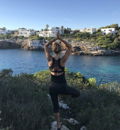 yoga ved havet